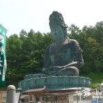 メメントモリ的な日本一の巨大青銅大仏「青龍寺・昭和大仏」【青森】