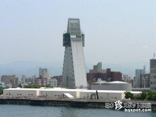 AOMORIのAの形・正三角形の仰天建築「アスパム」【青森】