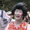 10人の女装男子とお札争奪大会「お札まき」【神奈川】