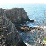 命がけの断崖絶壁「奇岩(2)三段壁」【和歌山】