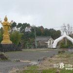 巨大な合掌するゲートがあるお寺「正雲寺(旧善徳院)」【大分】