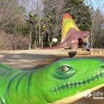 実物大恐竜のジュラシックパーク「森林公園」【茨城】