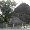 ひたすらデカイ! 巨大な男岩と女岩の陰陽石「女夫岩」【岐阜】