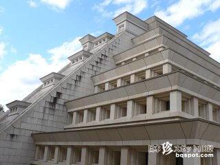 マヤ文明のピラミッドか? 超豪華な宗教施設「光記念館」【岐阜】
