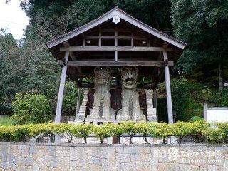ギネス認定の世界一巨大な狛犬と茶壺「美濃焼狛犬と茶壺」【岐阜】