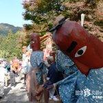 脱力系ヘタウマ人形の大蛇退治「大矢田ひんここ祭り」【岐阜】