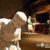 白い人のたたずむ市場・楽市立体絵巻「岐阜市歴史博物館」【岐阜】