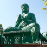無数の男根と真緑の大仏様「名古屋大仏・桃巌寺(とうがんじ)」【愛知】