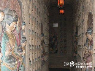 ここはガンダーラか、中国風戒壇めぐり「無量寺(ガン封じ寺)」【愛知】