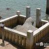 神武天皇が乗った亀は神武東征伝説の証拠か「亀石神社」【岡山】