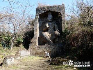 ここはインドか中国か? 表と裏の磨崖仏「鷹取磨崖仏」【神奈川】