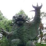 人や家畜を喰い殺す妖怪・牛鬼の像「根香寺(ねごろじ)」【香川】