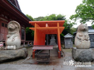 日本三大タヌキの一匹・太三郎狸「屋島寺・蓑山大明神」【香川】