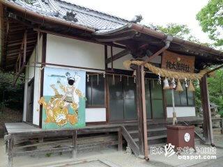 桃太郎、犬、猿、キジのお墓フルコンプリート「桃太郎神社」【香川】
