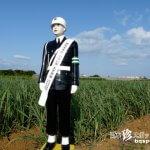宮古島一の有名人・警官型人形「宮古島まもる君」【宮古島】
