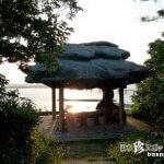 宮古島の珍モニュメント7「ガジュマル展望台」【来間島】