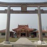 沖縄と内地のミックスデザイン「宮古神社」【宮古島】