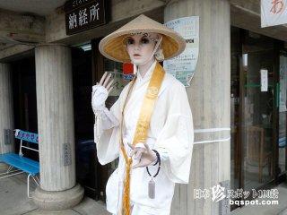 四国一有名なお寺の珍妙マネキンと謎の石像彫刻「霊山寺」【徳島】