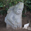 性器を露出? ワニのような女?「飛鳥奇石群(8)猿石」【奈良】