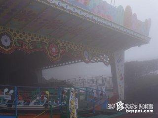霧の遊園地はサイレントヒルの香り「生駒山上遊園地」【奈良】
