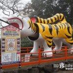 トラ・トラ・トラ! 虎てんこ盛りのお寺「朝護孫子寺」【奈良】