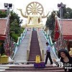 巨大仏像とヘタウマ像「ワット・プラヤイ寺院(Wat Phra Yai)(前編)」【タイ】