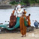 納得出来ない人魚伝説「ワット・プラヤイ寺院(Wat Phra Yai)後編)」【タイ】