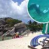 タオ島の海でマーメイドスイム修行「タオ島・ナンユアン島」【タイ】