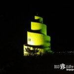 闇にそびえるバベルの塔?「熱帯ドリームセンター」【沖縄本島】