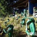 手づくりオブジェで町おこし(1)「下里工芸のカッパ村」【福島】