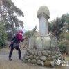 男女ハイブリッド型の巨大道祖神「鏡山道祖神(かがみやまどうそじん)」【佐賀】