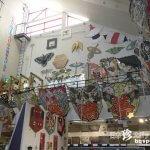 重さ700キロ、大空に舞い上がる100畳凧「東近江大凧会館」【滋賀】