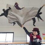 駅構内に忍者が! トリックアートで遊ぼう「甲賀駅」【滋賀】