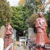 浅野祥雲作品か? 山中にたくさんの人物像「岩崎御嶽社」【愛知】