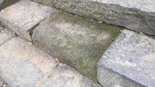 どんな晴天でも常に濡れている不思議な石「弘法寺・涙石」【千葉】