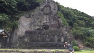 日本一の石仏と地獄のぞきと百尺観音とバカ学生と「日本寺」【千葉】