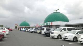 巨大な3個のメロンが目印!「道の駅・七城メロンドーム」【熊本】