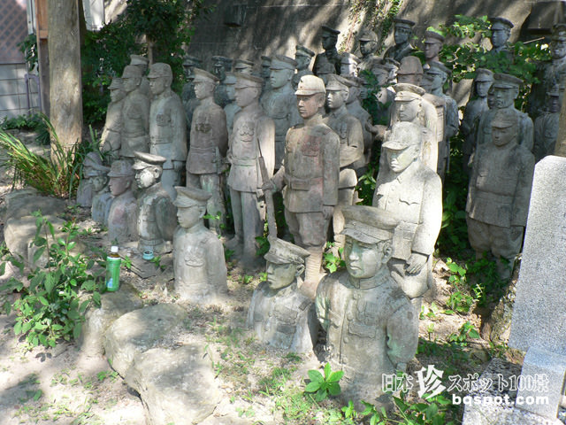 中之院・軍人墓地