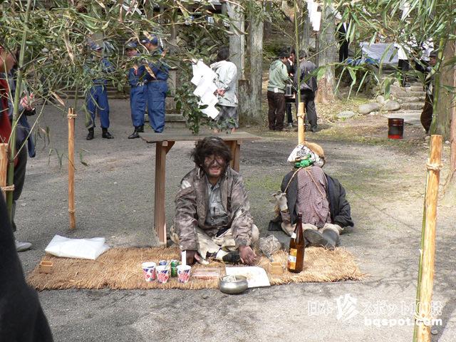 縣神社 こじき祭り