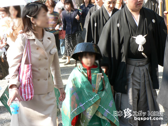 筑摩神社 鍋冠祭り