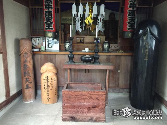 礼林寺・牛頭天王堂