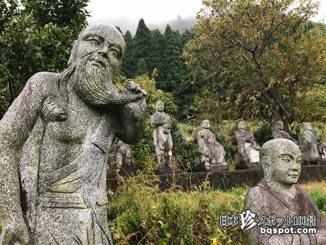 おおざわの石仏の森・ふれあい石像の里